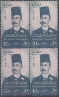 EGYPT - 1958 Mustafa Kamel Block Of Four. Scott 419. MNH ** - Egypt