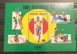 Togo,  1983, Mi: Block  201 (MNH). - Summer 1984: Los Angeles