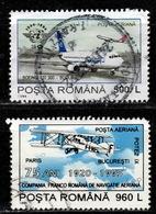RO+ Rumänien 1994 1995 Mi 5015 5072 Flugzeuge - 1948-.... Republiken