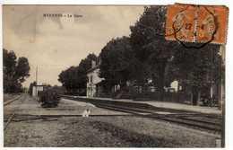 58 : Myennes : La Gare - Autres Communes