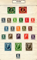 1911-20   Allemagne Bavière 1911-20, Louis III,  Entre 92* Et 176*, Cote 98 €, - Bayern (Baviera)