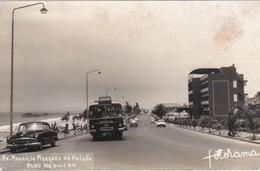 POSTCARD AFRICA - ANGOLA - NOVO REDONDO - Av. MAURICIO MARQUES DA PAIXÃO - OLD CARS - OLD BUS - Angola