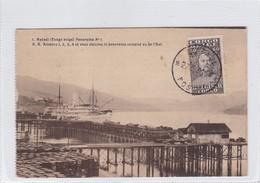 CONGO BELGE. MATADI. PANRAMA N°1. CIRCULEE 1931 A BELGIQUE, CAD- BLEUP - Belgisch-Congo - Varia