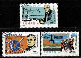 RO+ Rumänien 1999 Mi 5426 5428-29 XX. Jahrhundert - 1948-.... Republiken