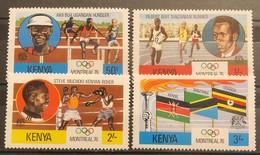 Kenya, 1976, Mi: 917/20 (MNH) - Zomer 1976: Montreal