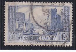 FRANCE 1930  N° 261b   Outremer Pale Oblitéré  /  PORT DE LA ROCHELLE   TYPE I   - REF 24-24 - France