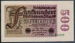 P110 Ro109b 100 Million Mark 01-09-1923. UNC NEUF!!! - [ 3] 1918-1933: Weimarrepubliek