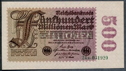 P110b Ro109b 100 Million Mark 01-09-1923. UNC NEUF!!! - [ 3] 1918-1933: Weimarrepubliek
