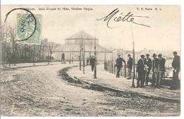 03 - MONTLUCON - Quai Rouget De L'isle, Théâtre Cirque - Montlucon