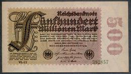 P110d Ro109d 100 Million Mark 01-09-1923. UNC NEUF!!! - [ 3] 1918-1933: Weimarrepubliek