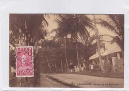 CONGO BELGE. LEOPOLDVILLE. AVENUE DU ROI SOUVERAIN. NELS. CIRCULEE 1931 A BELGIQUE- BLEUP - Congo Belge - Autres