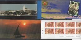 TANZANIA ,MNH,TOURISM, LOCAL BOOKLET, MONKEYS, FAUNA, MOUNTAINS, ART, ZANZIBAR, SCARCE - Art