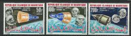 "Mauritanie Aerien YT 51 à 53 (PA) "" Cosmonautes "" 1966 Neuf** - Mauritanie (1960-...)"