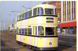 SHEFFIELD ROBERTS-BODIED TRAM 513 - NVG FG - F669 - Strassenbahnen