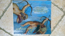 GRAND CALENDRIER1998 - LES ANGES ( Tableau Art Peinture ) - USA 30cmx28cm - SUR PAPIER RECYCLABLE - Big : 1991-00
