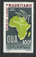 "Mauritanie Aerien YT 55 (PA) "" O. U. A. "" 1966 Neuf** - Mauritanie (1960-...)"