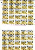 1978    Ile De Man,  J.K. Ward, 119 X  127 / 128**, En Feuilles Et Blocs, Faciale 7,14£, - Man (Ile De)