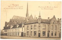 Furnes NA12: Banque Nationale Et Coin De La Rue Du Nord 1921 - Veurne