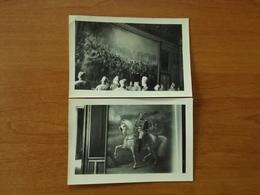 WW2 GUERRE 39 45 VERSAILLES  SOLDATS ALLEMANDS REGARDANT LES TABLEAUX - Versailles