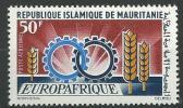 "Mauritanie Aerien YT 63 (PA) "" Europafrique "" 1966 Neuf** - Mauritanie (1960-...)"