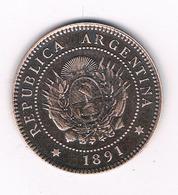 1 CENTAVO  1891  ARGENTINIE /8278/ - Argentine