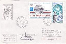 TAAF 1993 TELECOM CAP HORN BAIE ORANGE PORT AUX FRANCAIS KERGUELEN TAAF  (DICE180002) - Preservare Le Regioni Polari E Ghiacciai