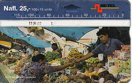 CURACAO - Floating Market, CN : 709C, 09/97, Used - Antille (Olandesi)