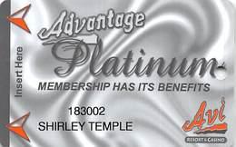 AVI Resort & Casino - Laughlin, NV - Slot Card - Cartes De Casino