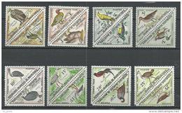 "Mauritanie Taxe YT 34 à 49 "" Oiseaux, Série Complète "" 1963 Neuf** - Mauritanie (1960-...)"