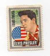 Italia - ETICHETTA - ERINNOFILO - I Grandi D'America - Elvis Presley - Vedi Foto - (FDC13215) - Erinnophilie
