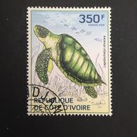 COTE D' IVOIRE REPUBLIC. TURTLES. 2014. (B0807B) - Turtles
