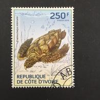 COTE D' IVOIRE REPUBLIC. TURTLES. 2014. (B0807C) - Turtles