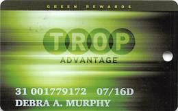 Tropicana Express Casino Laughlin NV - Slot Card With C-16597L - Casino Cards