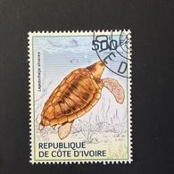 COTE D' IVOIRE REPUBLIC. TURTLES. 2014. (B0807D) - Turtles