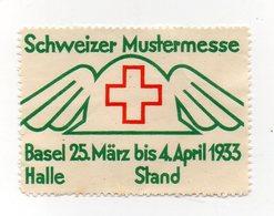 Svizzera - 1933 - ETICHETTA - ERINNOFILO - Basel - Schweizer Mustermesse - Vedi Foto - (FDC13216) - Erinnophilie
