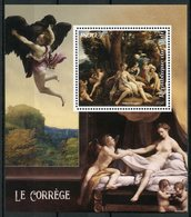Mali 2018 MNH Antonio Da Correggio 1v S/S Nude Paintings Nudes Art Stamps - Nudes