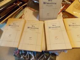 ALEXANDRE DUMAS MES MEMOIRES.TEXTE PRESENTE PAR PIERRE JOSSERAND.GALLIMARD - Livres, BD, Revues