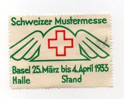 Svizzera - 1933 - ETICHETTA - ERINNOFILO - Basel - Schweizer Mustermesse - Vedi Foto - (FDC13217) - Erinnophilie
