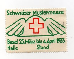 Svizzera - 1933 - ETICHETTA - ERINNOFILO - Basel - Schweizer Mustermesse - Vedi Foto - (FDC13217) - Erinnofilia