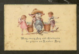 CP-May Every Joy And Gladness Be Yours On Gaster Day - Cartes Postales