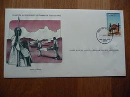 (S) Kenia, FDC 20-03-1980, Flying Doctor Service - Kenya (1963-...)