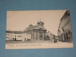 (K408) MECHELEN - Eglise S-Pierre Et Marché Au Bétail - Uitg. Bertels - Malines