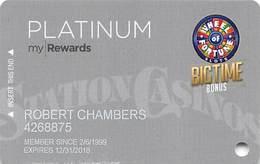 Station Casinos Las Vegas, NV - Slot Card Copyright 2018 - Casino Cards