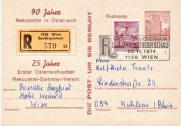 Postal History Cover: Austria R Postal Stationery Card - 1971-80 Storia Postale