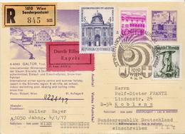 Postal History Cover: Austria R Postal Stationery Card - 1945-.... 2ème République