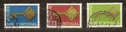 Portugal Cept 1968 Yvertnr. 1032-34 (°) Used Cote 6 Euro - 1910-... République