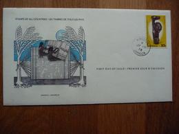 (S) Jamaica FDC Kingston 10-7-1978 Arawak Artifacts - Jamaica (1962-...)