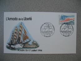 Enveloppe 1994    L'Armada De La Liberté  Rouen - Schiffe