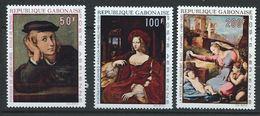 Gabon YT PA 104-106 XX / MNH  Art Peinture Raphael - Gabon (1960-...)