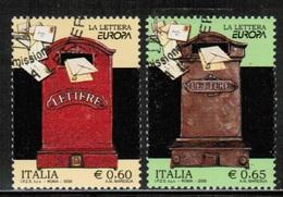 CEPT 2008 IT MI 3240-41 ITALY USED - Europa-CEPT